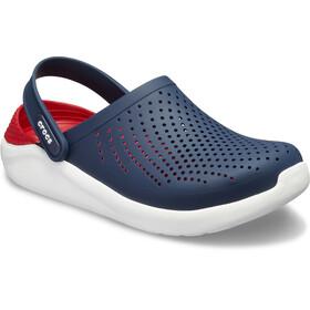 Crocs LiteRide Clogs zoccoli, blu/rosso